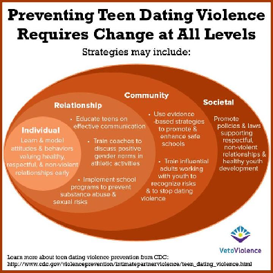 Youth dating violence programs